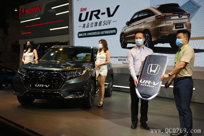 东风本田全新UR-V东莞正式上市 售24.68-32.98万-图6