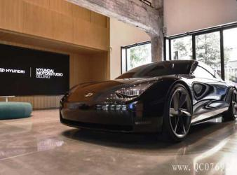 Prophecy概念车登陆现代汽车文化中心传递现代汽车未来电动发展愿景